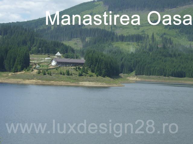 Manastirea Oasa pe malul opus - situata in apropierea lacului cu acelasi nume