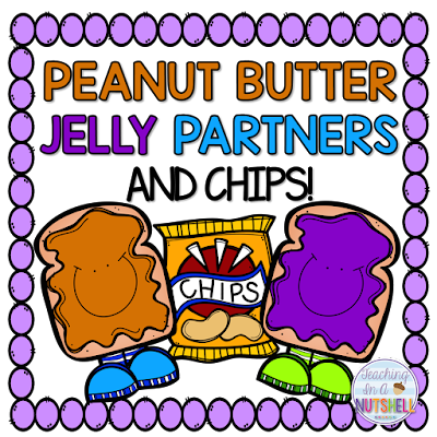 Organize your Turn & Talk times with Peanut Butter and Jelly Partners! This method makes it exciting to share with peers and helps teachers organize Turn & Talk times making them even more effective and productive. Click for more information on how to implement in your classroom!