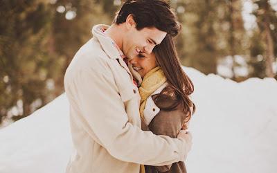 fotos de parejas en nieve
