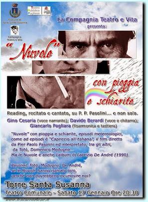 """""""Nuvole con pioggia e schiarite"""" Teatro Comunale di Torre S. Susanna"""