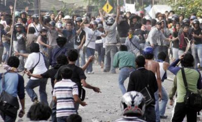 2 orang tewas akibat tawuran mahasiswa di makassar