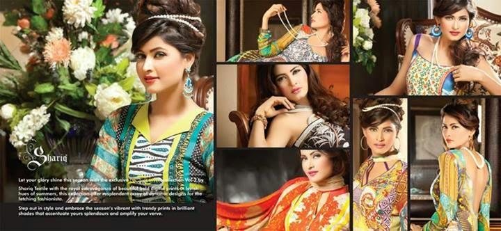 La Reina Lawn Eid Prints-2014
