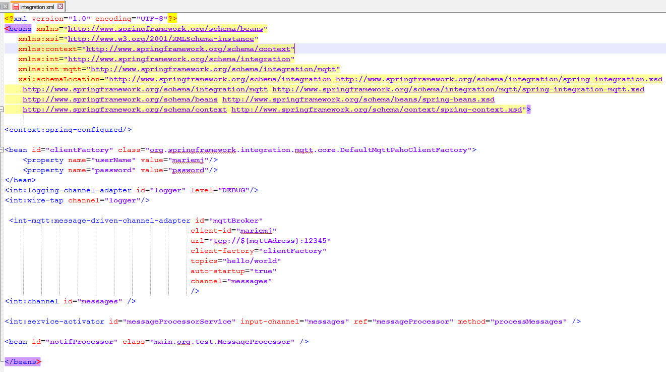 Time Is Running Out Dont Lose It April 2014 Spring Bean Wiring And The Intergrationxml