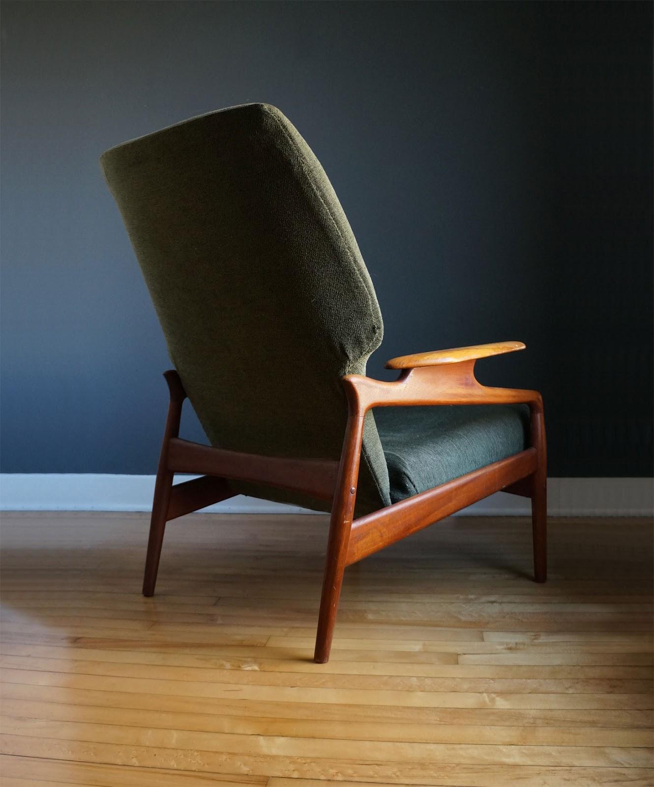 str8mcm danish lounge chair