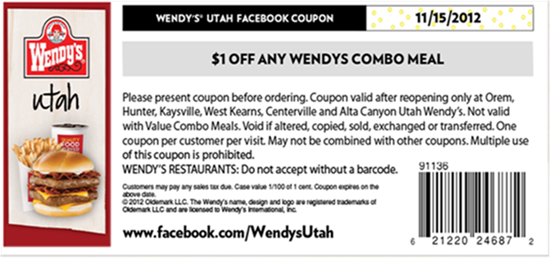 Lunch coupons utah