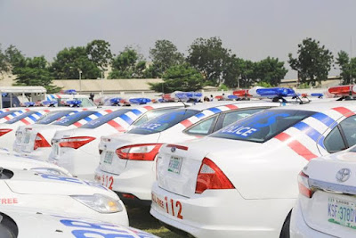 lagos buys security cars and equipments