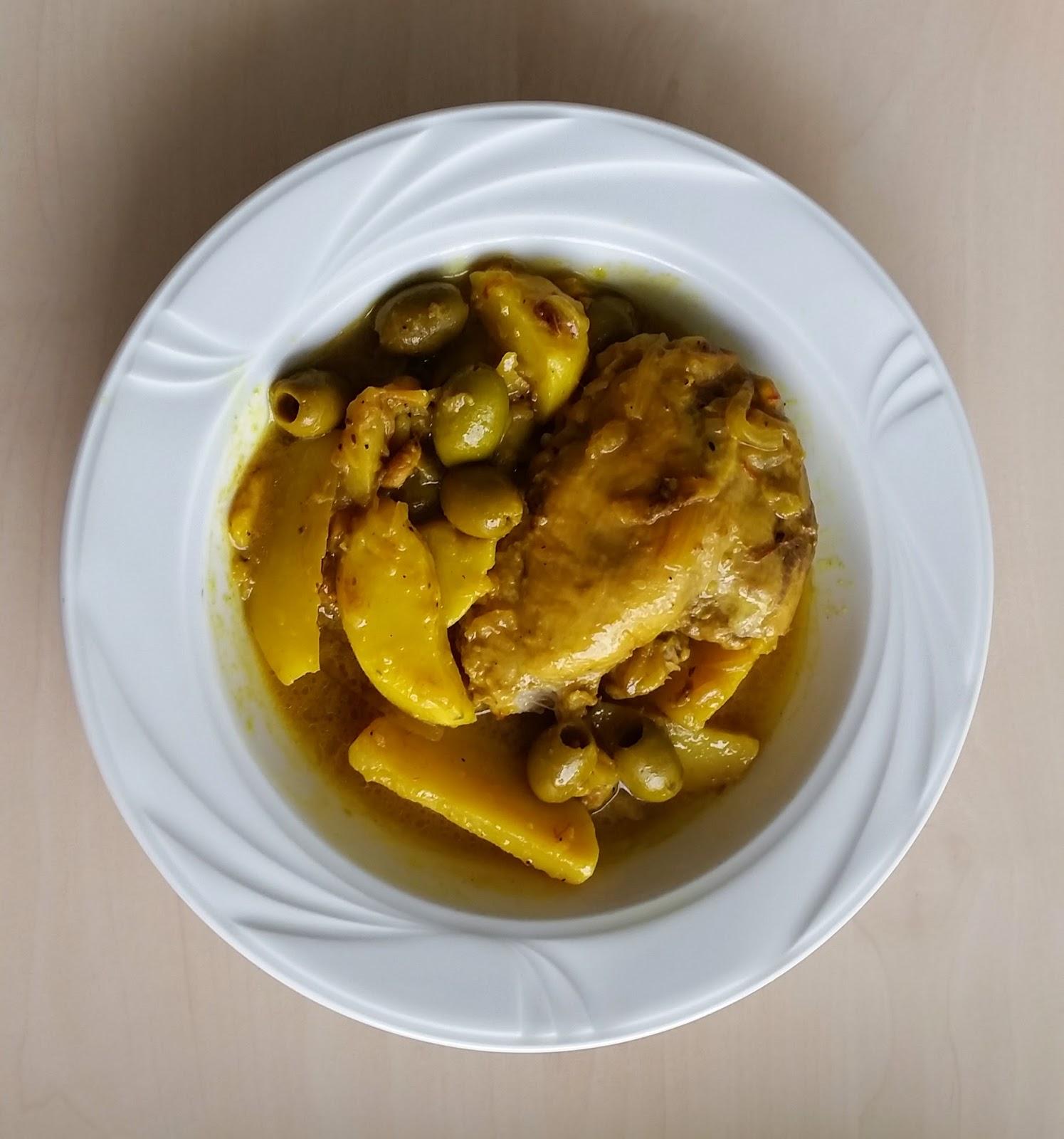 bombay bruxelles tajine de poulet aux olives citron confit et safran chicken olive. Black Bedroom Furniture Sets. Home Design Ideas