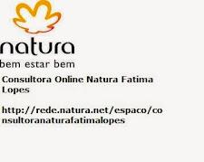 CONSULTORA ONLINE NATURA FATIMA LOPES