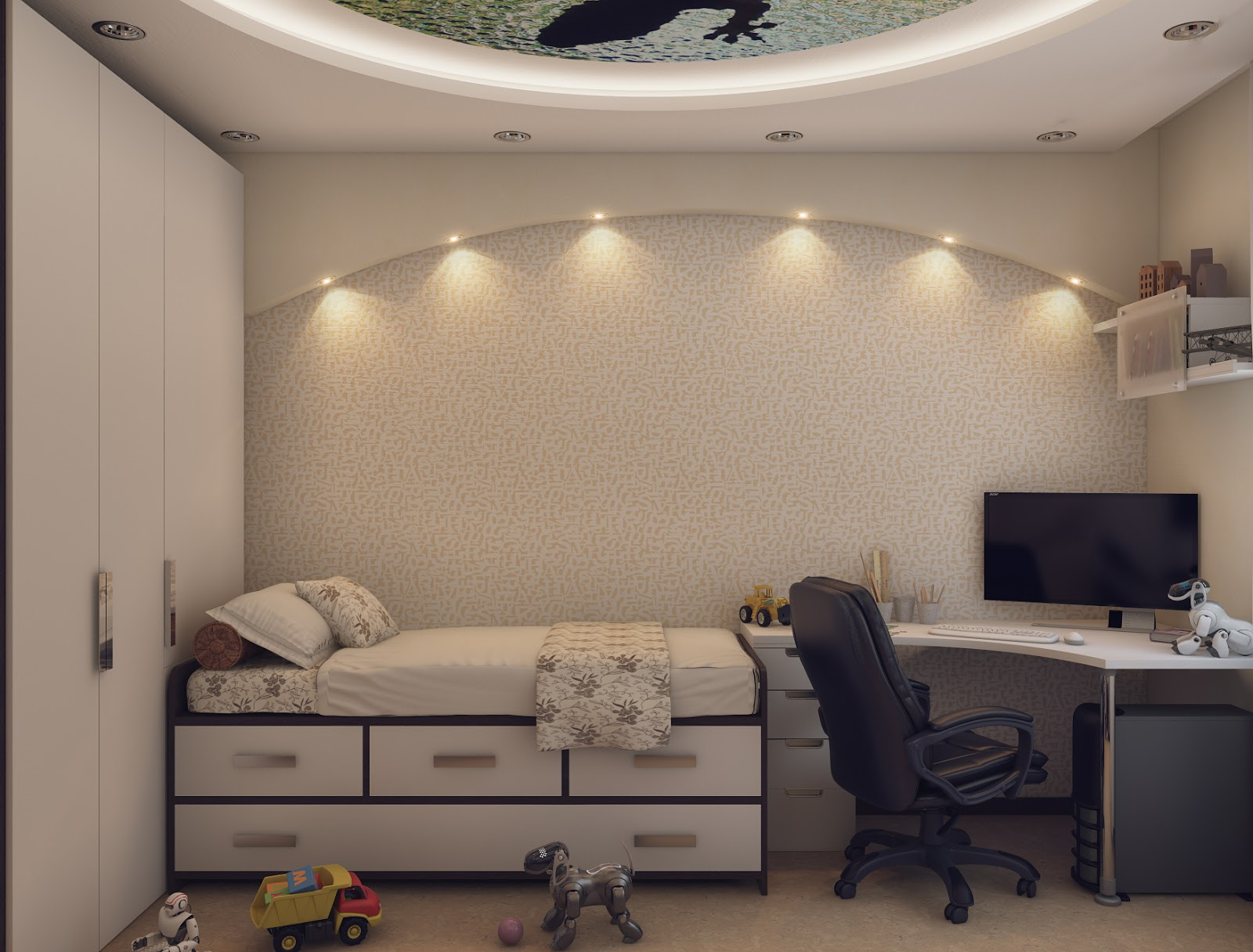 Дизайн комнаты для подростка 10 кв метров