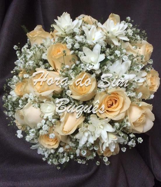 (496)Buquê de Noiva Romântico