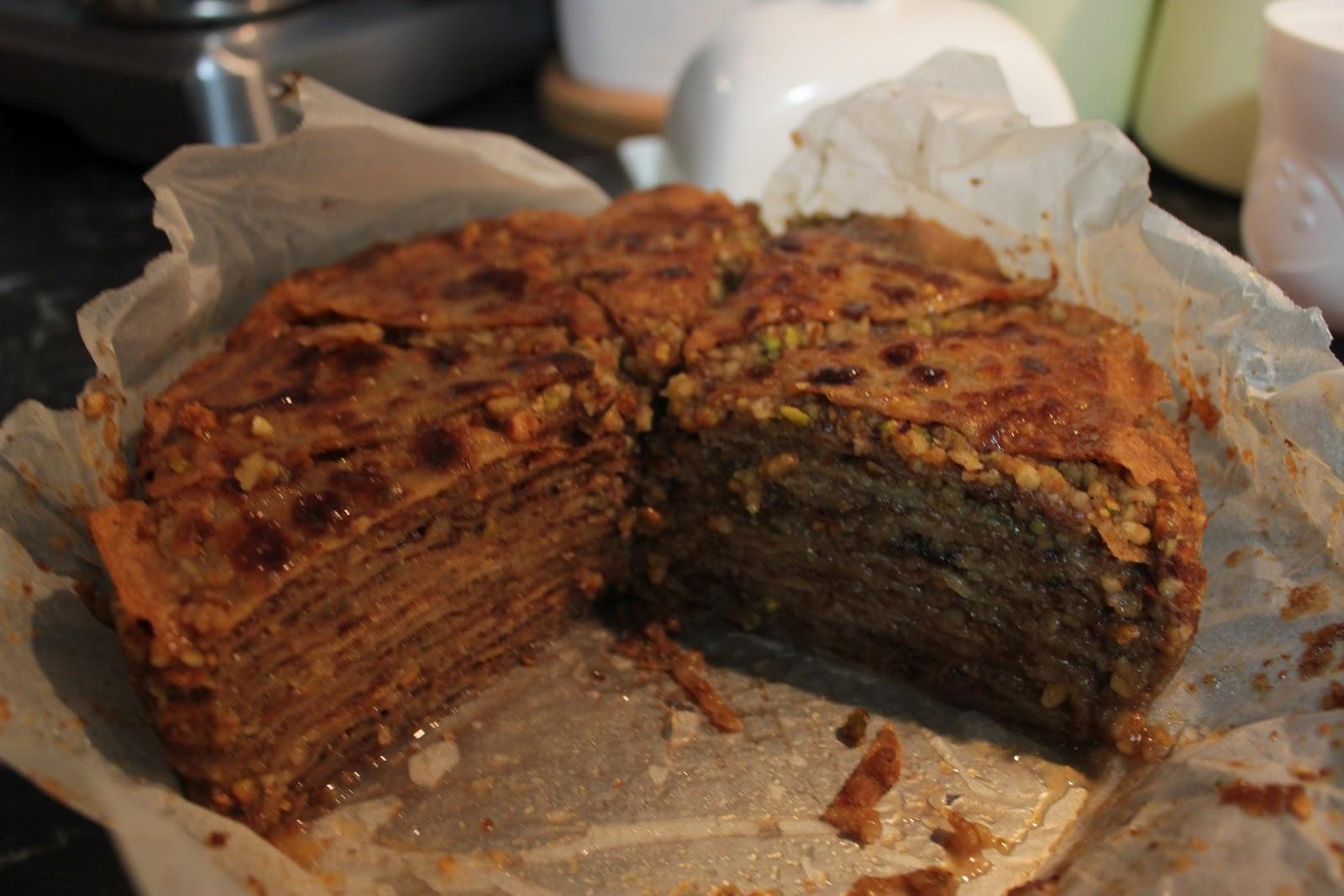 ... my way around the world: Turkey & Greece Part II - Baklava Crepe Cake