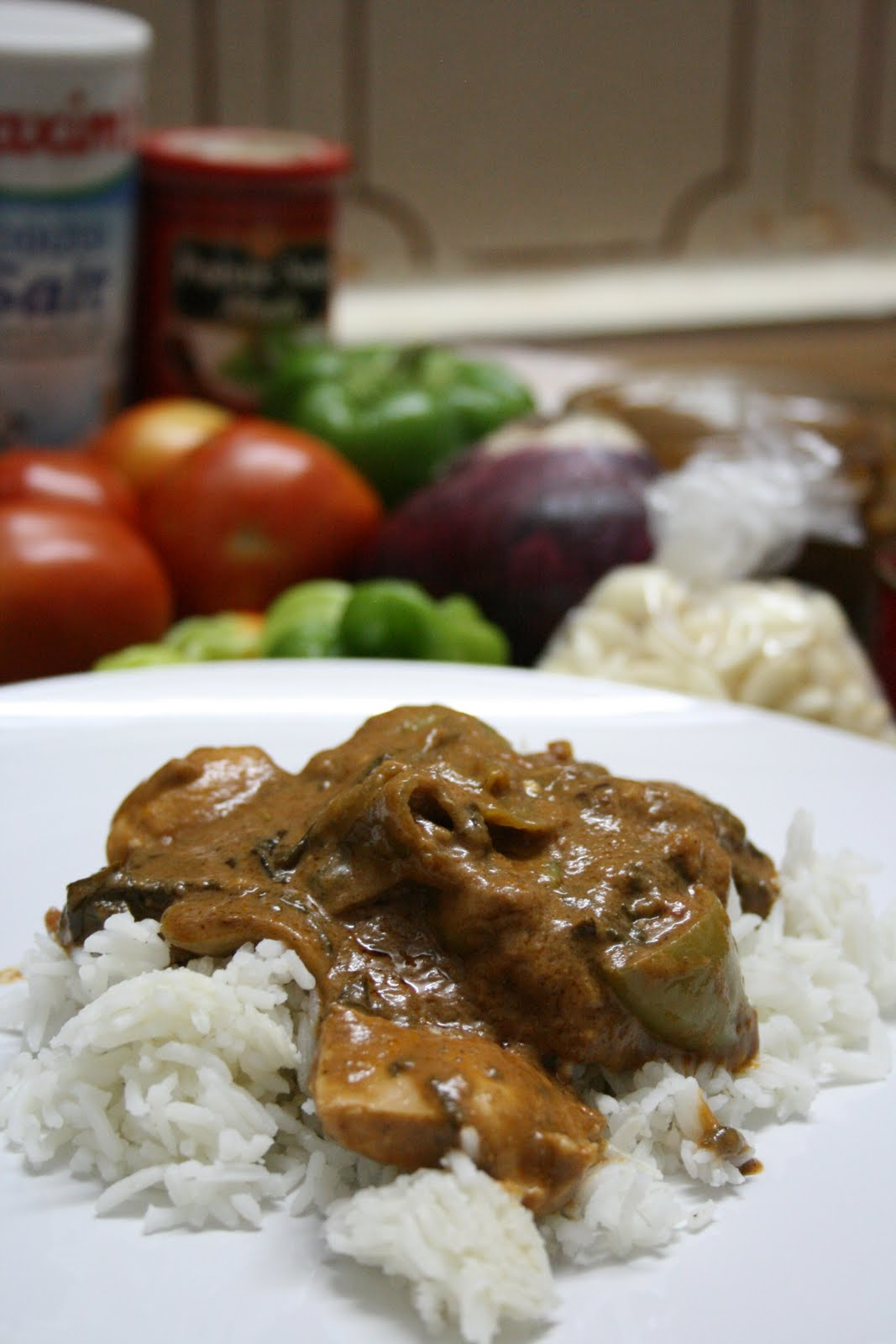 A Moveable Kitchen: West African Peanut Sauce