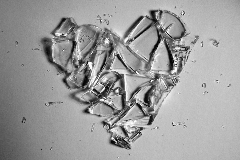 Shattered Heart Drawings How to draw a ... shattered