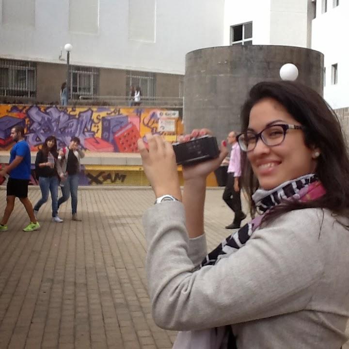 Reportera en la I Feria didáctica de la Ciencia