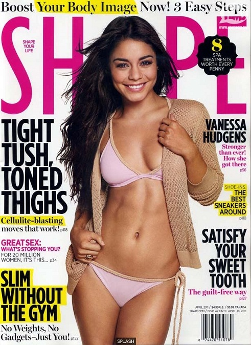 vanessa hudgens 2011 photos. Vanessa Hudgens Covers Shape