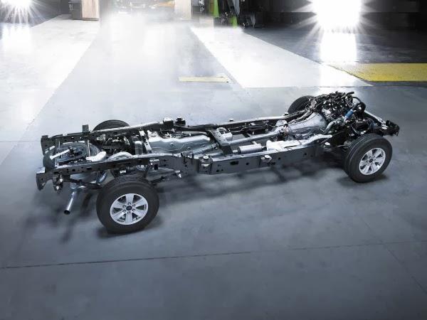 kerangka Ford F-150