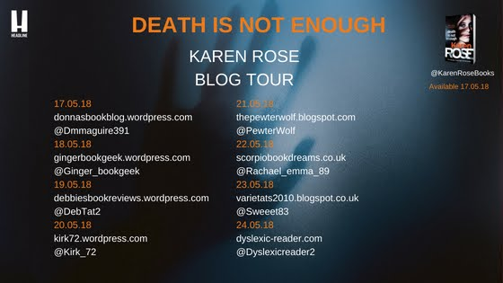 Death Is Not Enough Blog Tour
