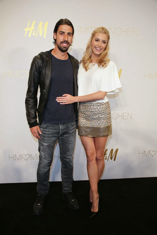Fitness tuition from a friend | Lena Gercke: So she loves and lives with Sami Khedira!