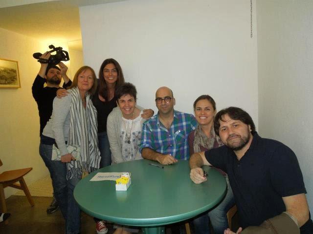 Abril de 2012 - Nosso Clube de Leitura com Marcelino Freire e Valter Hugo Mãe