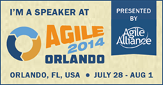 Speaker At Agile Alliance 2014