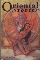 "Sensual book cover of ""Oriental Stories"""