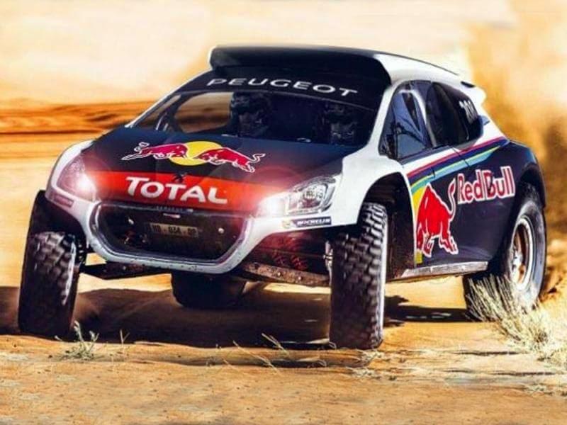 Dakar 2015 Peugeot 2008