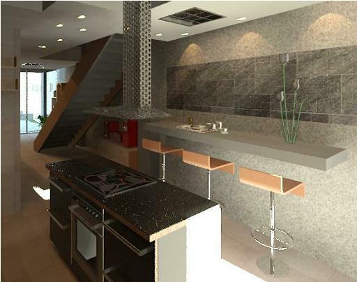 Modelos de cocinas en cemento pulido imagui - Cocina cemento pulido ...