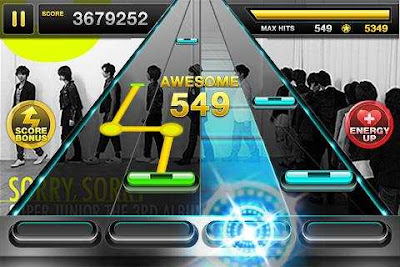 Tap Sonic Rhythm Action for Samsung Galaxy Young