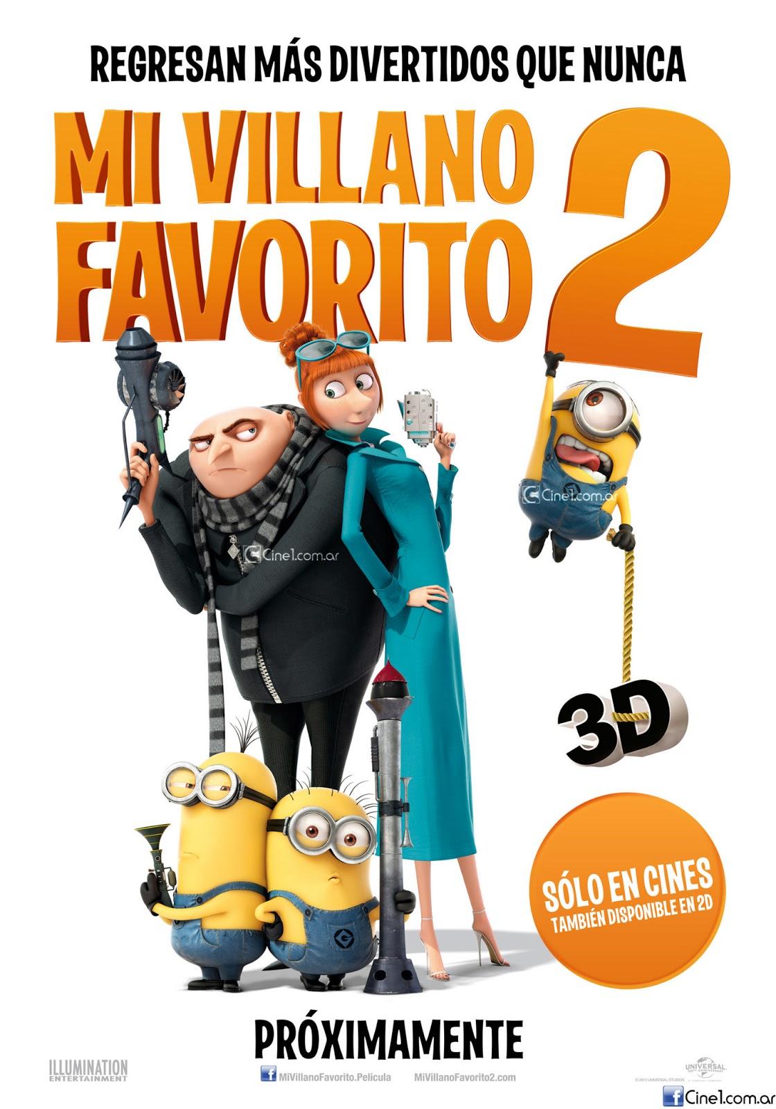 Gru Mi villano favorito 2 (2013)