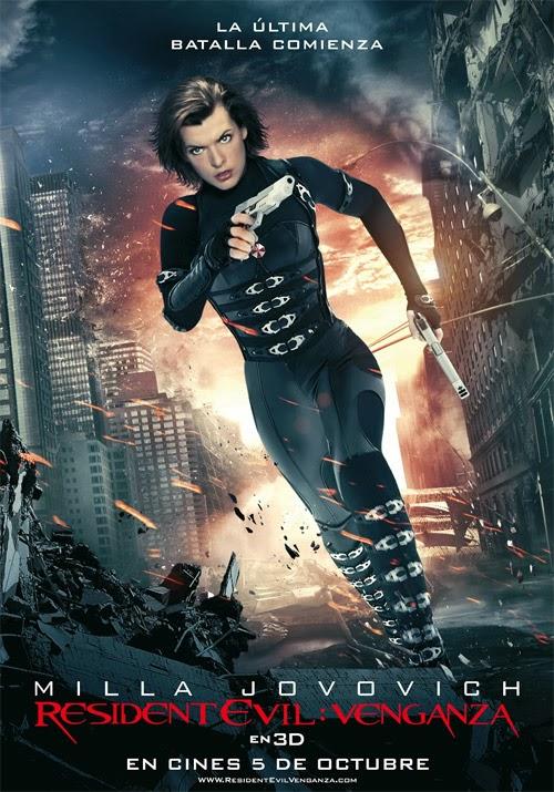 Resident Evil 5: Venganza  [DVDRip] [Latino] [2012]