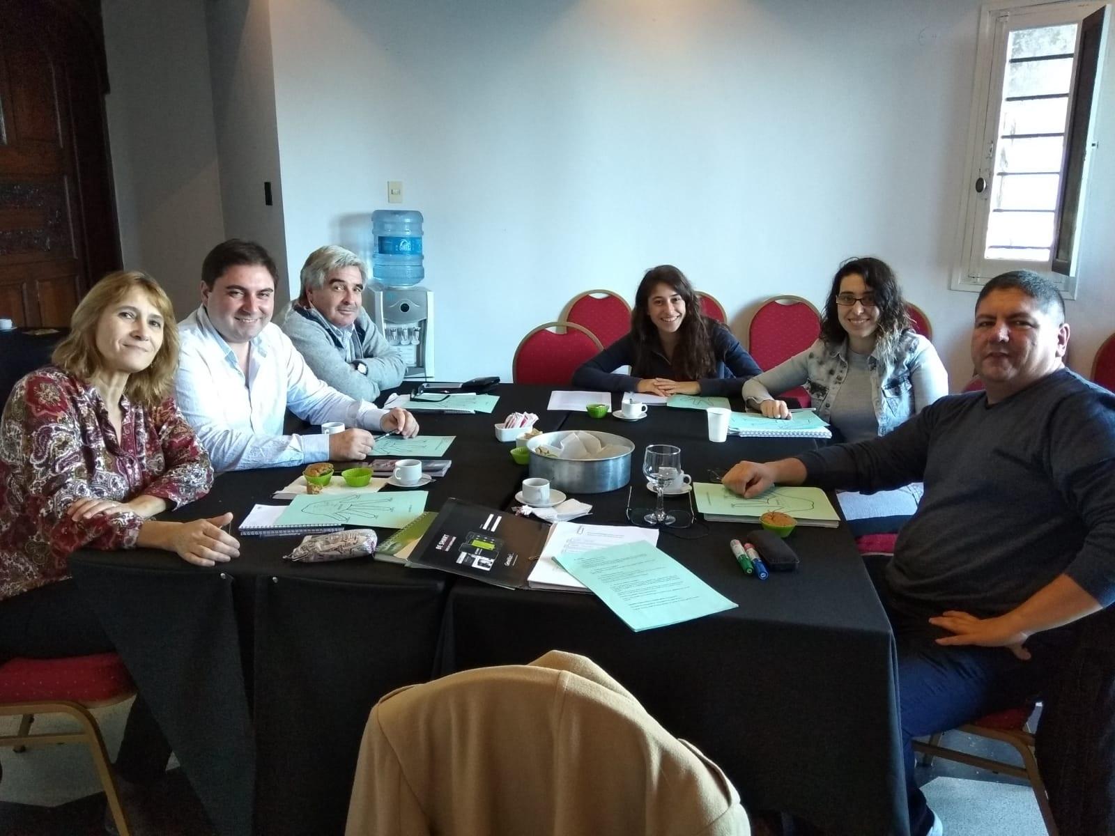 Registro de integrantes de Escritores Creativos Pittamiglio 2018. Primer Ciclo.