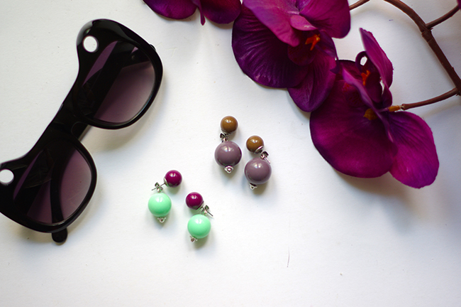 Create your own Dior inspired double pearl earrings. www.fashionrolla.com
