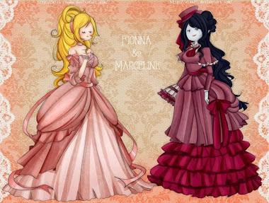Elegantes vestidos de elegantes damas