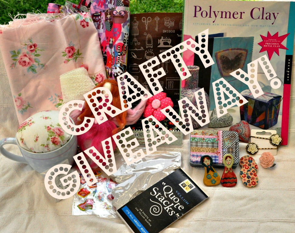 The Crafeteria's Crafty Giveaway