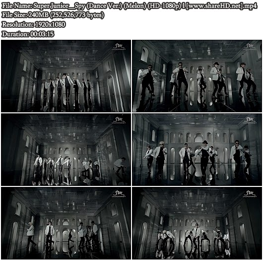 Download MV Super Junior - Spy (Dance Ver.) (Melon Full HD 1080p)
