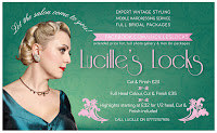 Expert Vintage styling by Lucille's Locks