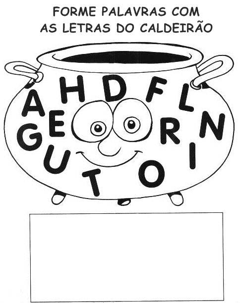 Atividades de Alfabetização coma letra G