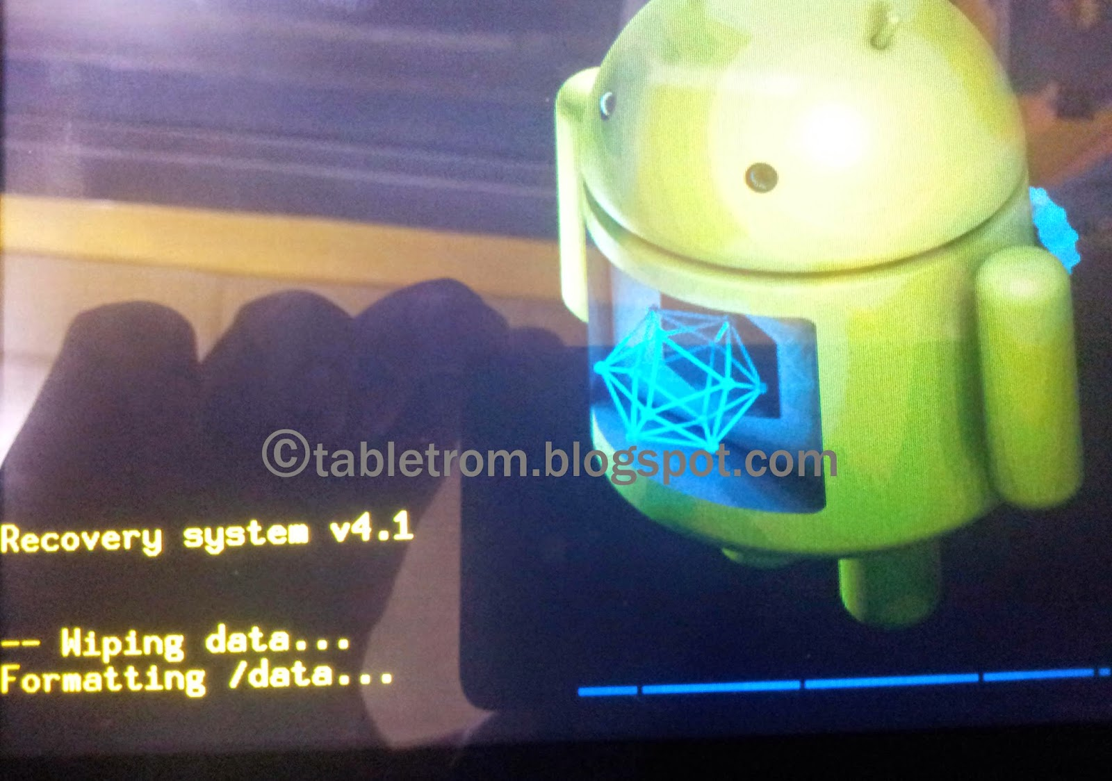 how to delete downloads on android tablet
