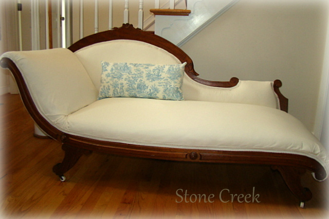 Furniture flippin 39 a not to be forgotten fainting couch for Fainting couch