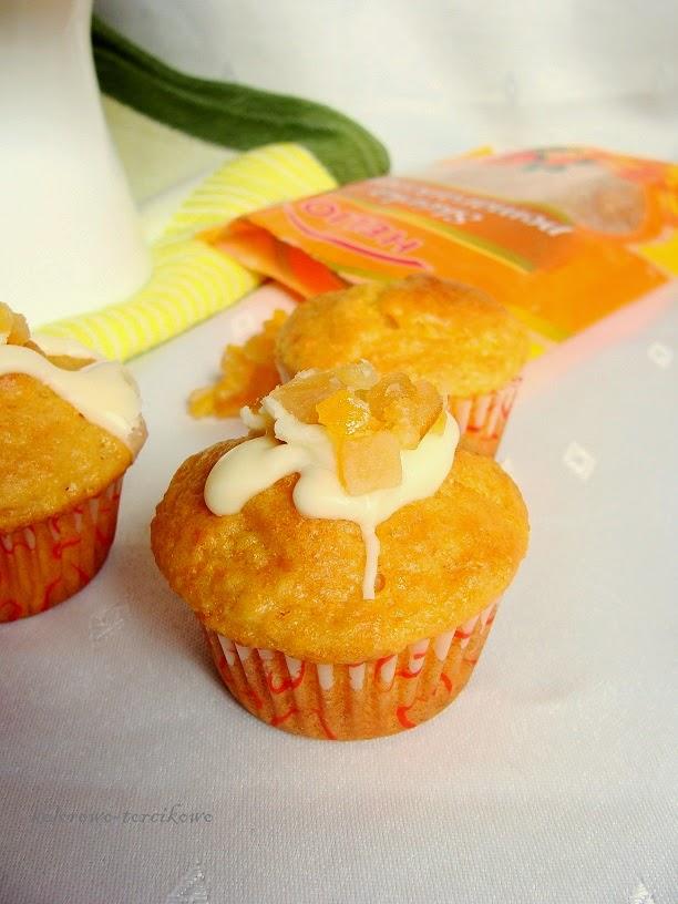 muffinki z marchewki