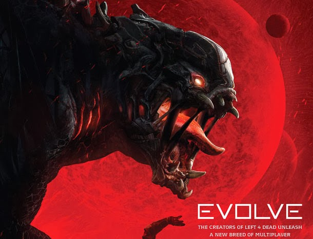 evolve monster art