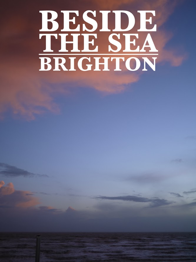 Beside the sea in Brighton by Alexis at www.somethingimade.co.uk