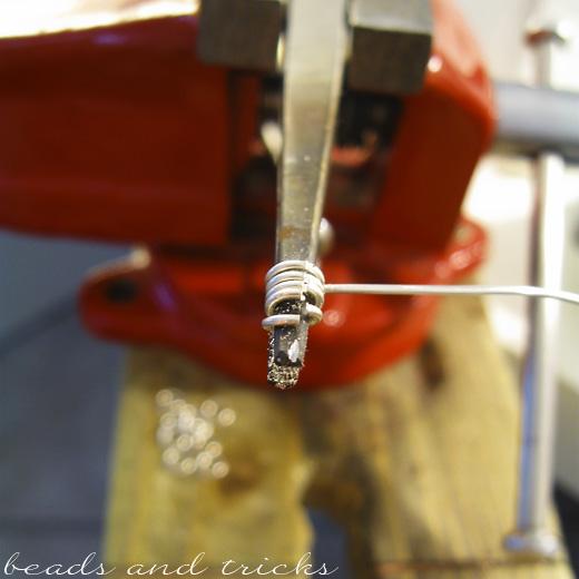Anellini in argento fatti a mano