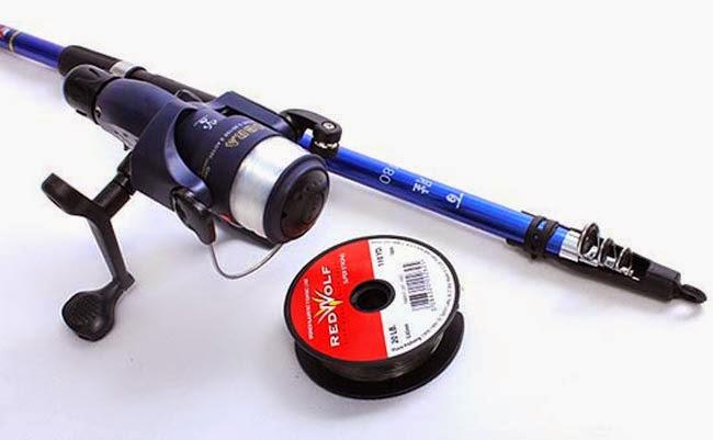 Tuyệt chiêu chọn máy câu rê cá lóc