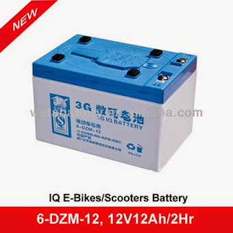 Venta de Bateria Ciclo Profundo 6-dzm-12 para Bicicletas Electricas