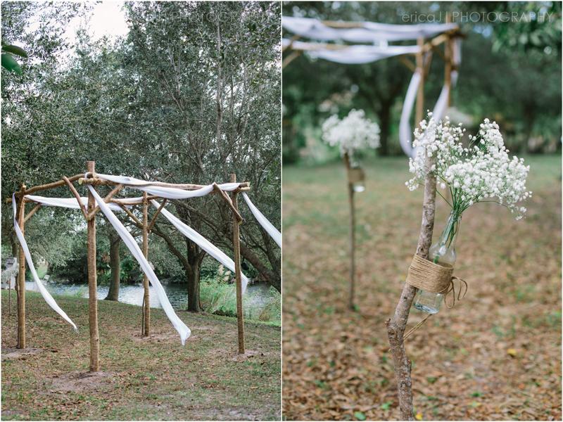 palm beach gardens florida outdoor ceremony venue wedding photography