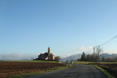 Driving Near Sant'Anna Roracco, Mondovì
