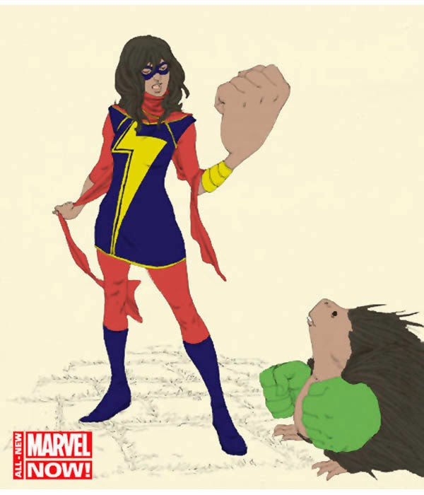 Marvel's Latest Superhero, Kamala Khan