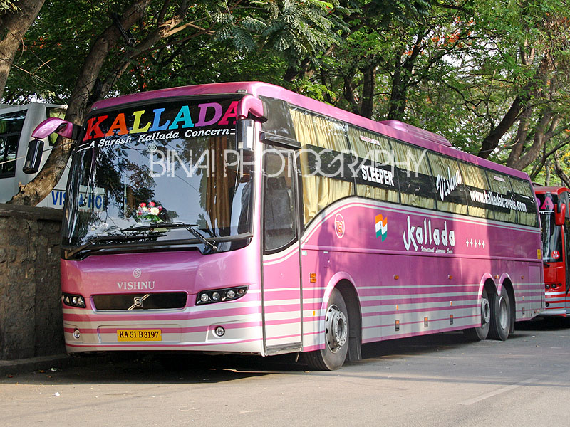 Kallada multi axle Volvo bus