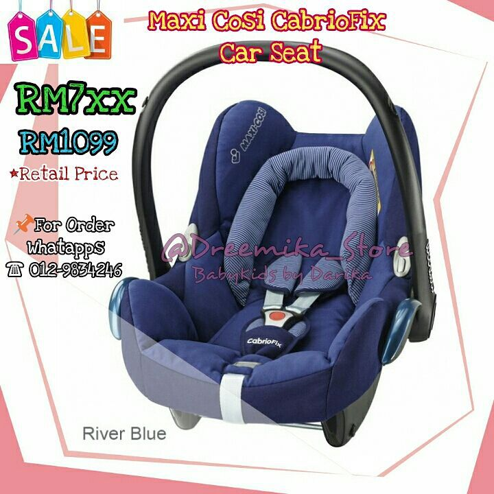 maxi cosi cabrio fix adalah carrier paling stylo dreemika store babykids by darika. Black Bedroom Furniture Sets. Home Design Ideas